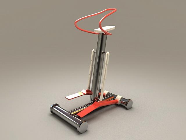 Stepper Machine 3d model