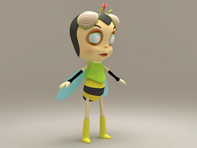 Humanoid Bee 3d model