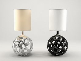 Modern Art Deco Table Lamps 3d model