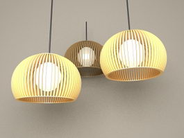 Modern Hanging Pendant Lights 3d model