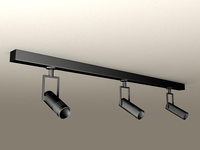 Spotlight Ceiling Lights 3d Model 3ds Max Files Free