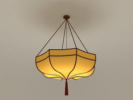 Umbrella Pendant Light 3d model