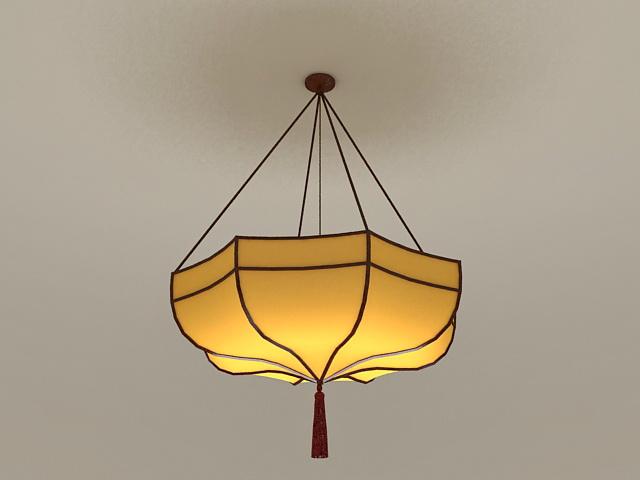 Umbrella Pendant Light 3d model