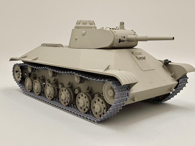 Russian T-50 Tank 3d model