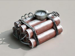 Dynamite Time Bomb 3d model