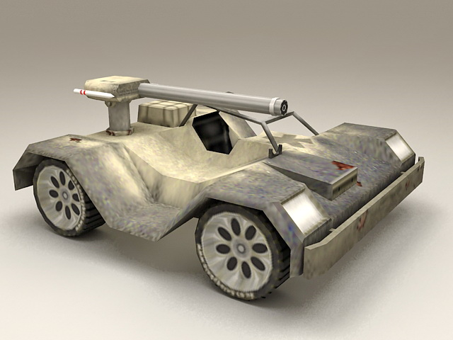 Future Combat Vehicle 3d model