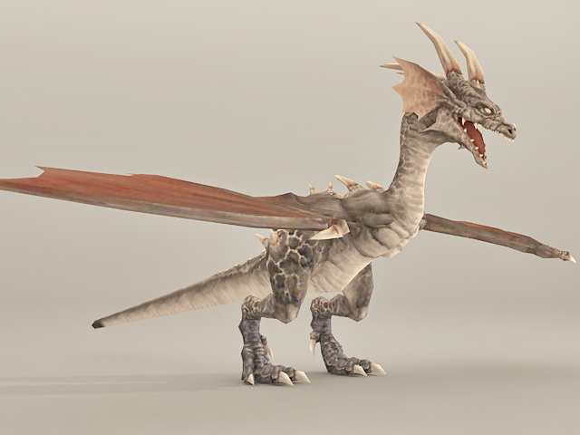 Fantasy Dragon 3d model