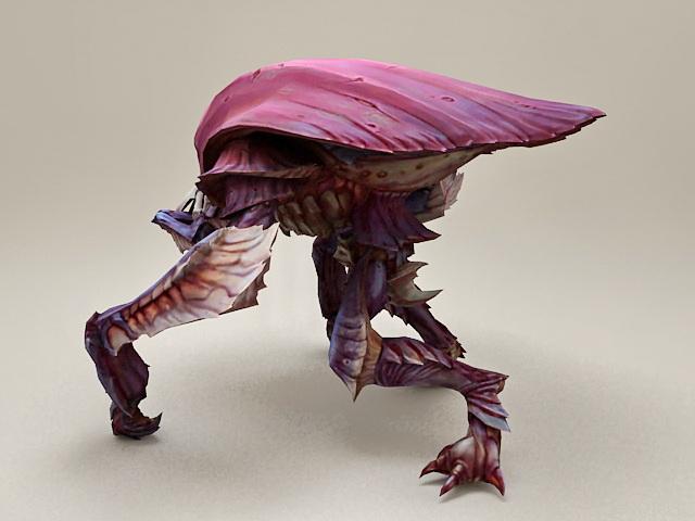 Giant Bug Monster 3d model