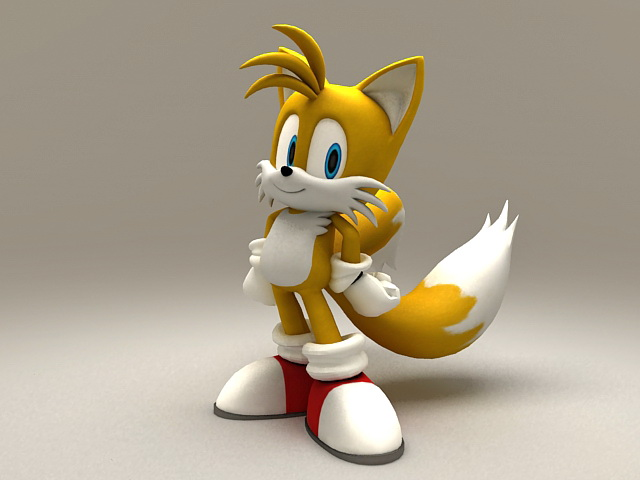 Miles Tails Prower 3d model