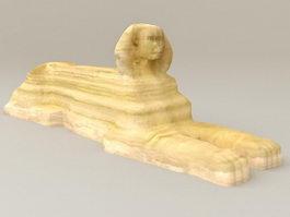 Egypt Sphinx 3d model