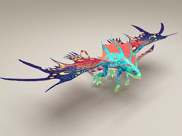 Ancient Faerie Dragon 3d model