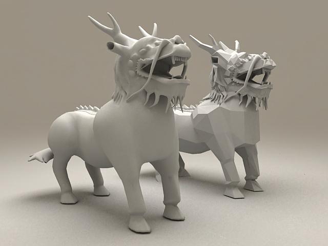 Kylin Beast 3d model