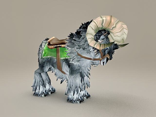 Mountain Sheep Mount 3d model