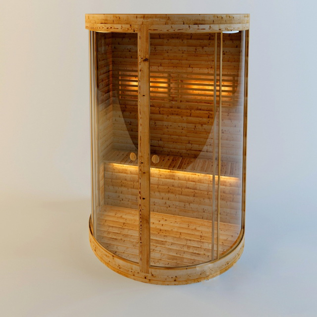 Mini Steam Sauna 3d model