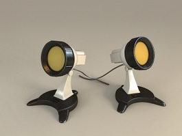 Outdoor Lighting Spotlight 3d model