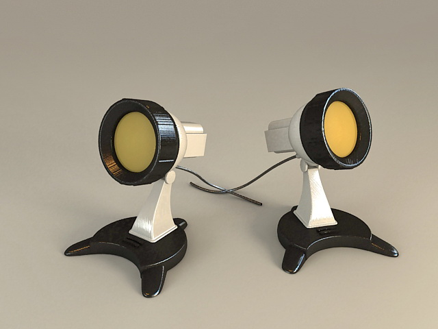 Outdoor Lighting Spotlight 3d model