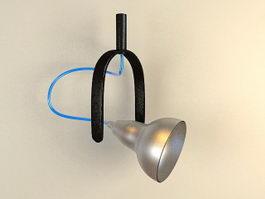 Industrial Spotlight 3d model