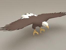 Bald Eagle Wings 3d model