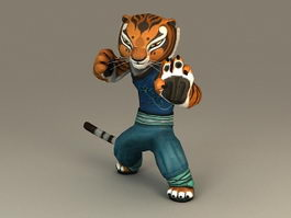 Kung Fu Panda Tigress 3d model