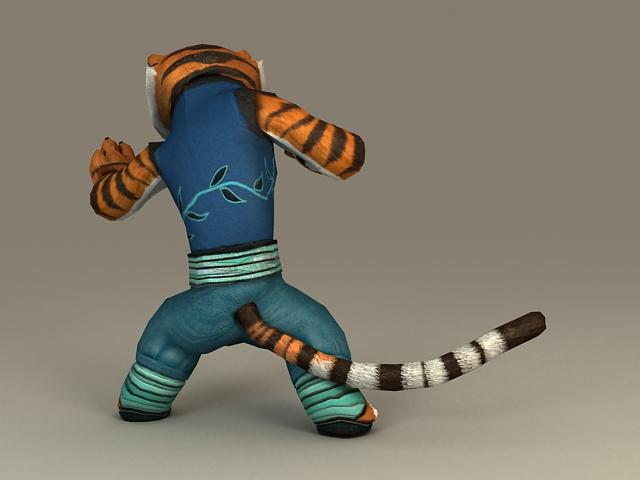 Kung Fu Panda Tigress 3d Model 3ds Max Files Free Download