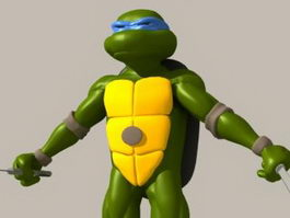 Teenage Mutant Ninja Turtles 3d model