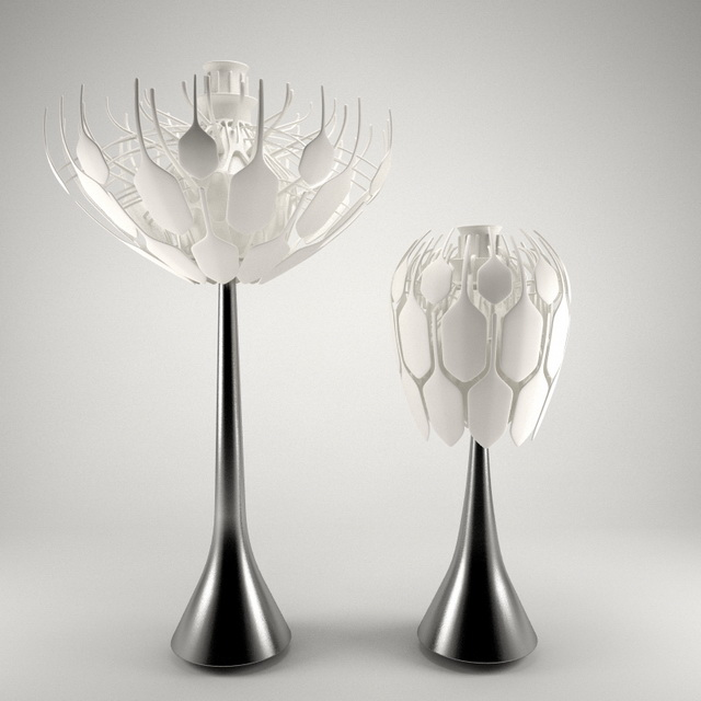 Dandelion Table Lamp 3d model
