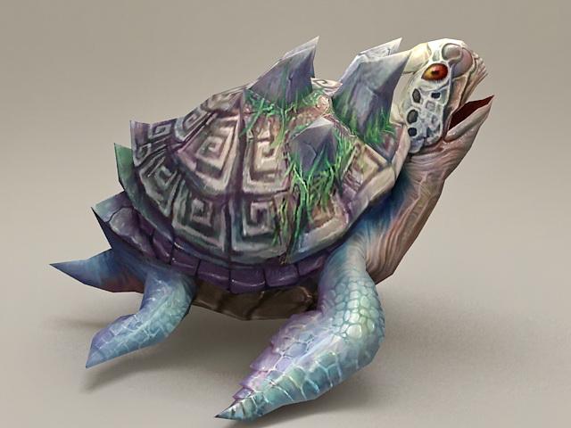Fantasy Turtle 3d model