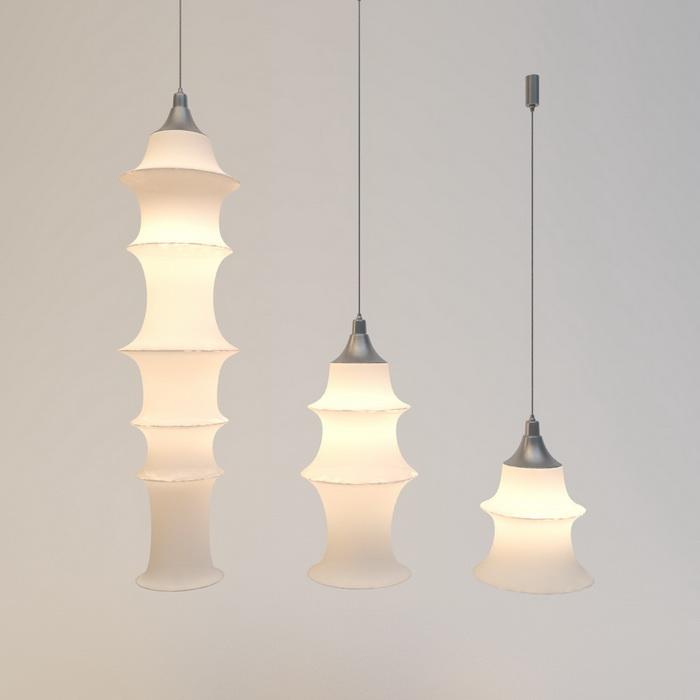 Contemporary Pendant Light Fixtures 3d Model 3ds Max Files