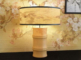 Bamboo Table Lamp 3d model