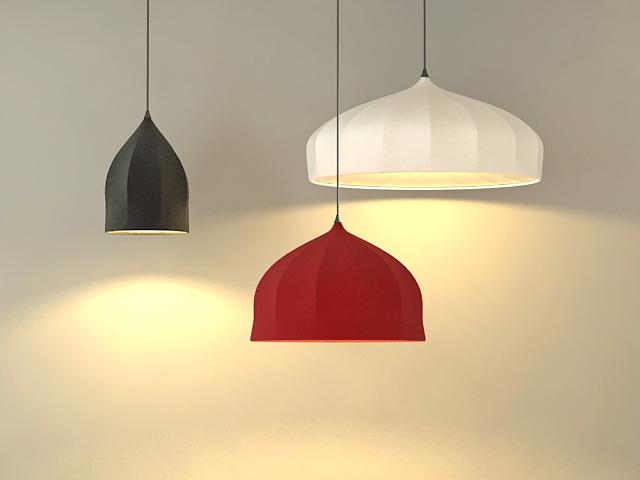 Modern Pendant Lamps 3d model
