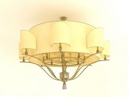 Semi Flush Mount Ceiling Light 3d model