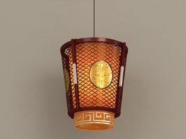 Chinese Lantern Hanging Lamp 3d model