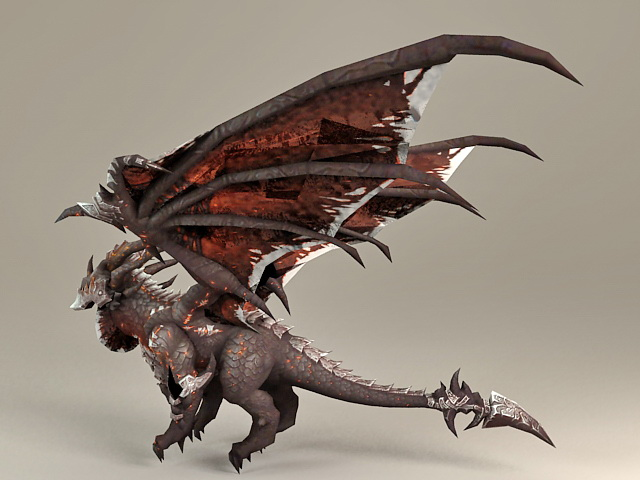 Deathwing the Destroyer 3d model