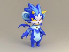 Anthropomorphic Fox 3d model