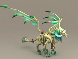 Undead Dragon 3d model