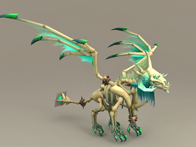 Undead Dragon 3d model