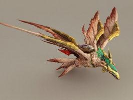 Dragon Bird 3d model