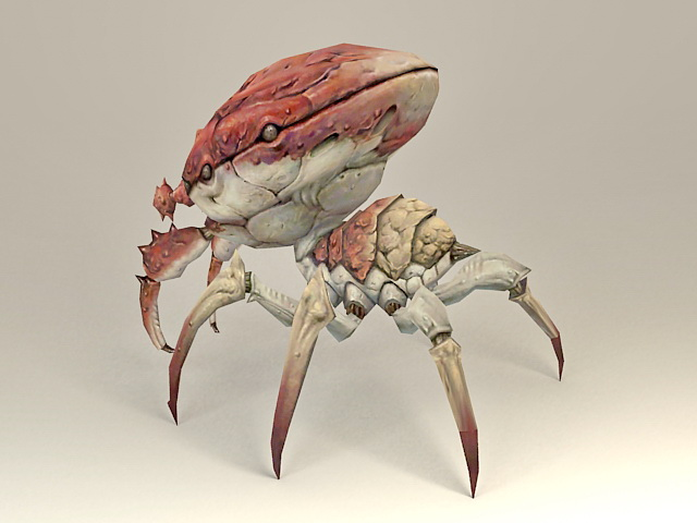 Giant Monster Crab 3d Model 3ds Max Files Free Download