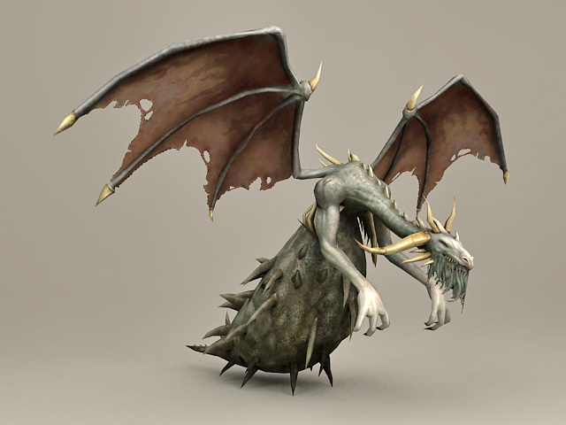 Huge Bug Dragon 3d model