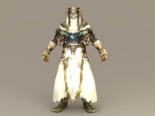 Lycan Priest 3d model