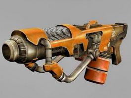 Plasma Rifle Concept 3d model