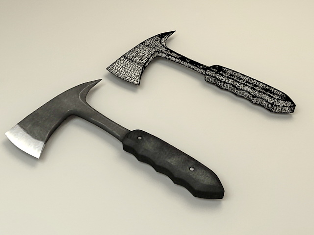 Throwing Axe 3d model