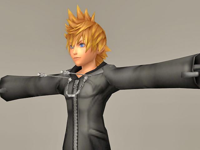 <b>Roxas Kingdom Hearts</b> Wallpaper - WallpaperSafari