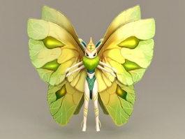 Elf Butterfly 3d model