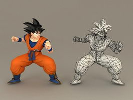 Dragon Ball Son Goku 3d model
