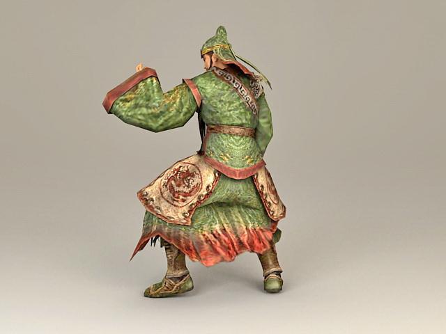 Dynasty Warrior Guan Yu 3d model