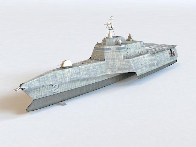 Littoral Combat Ship 3d model