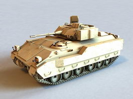 M2 Bradley Infantry Fighting Vehicle 3d model