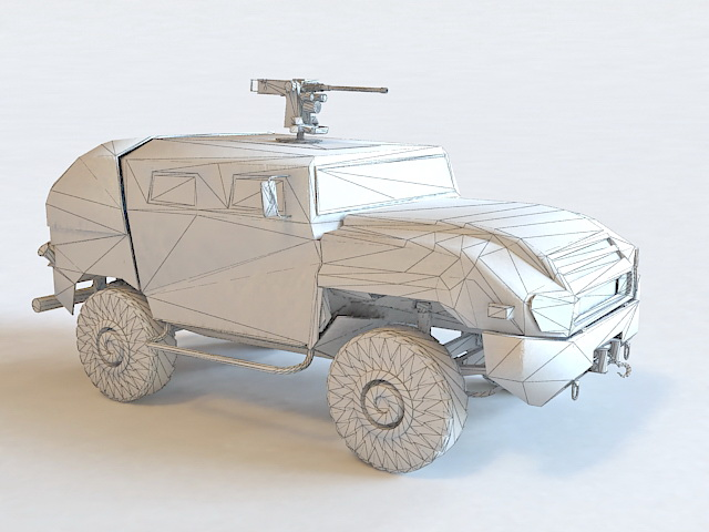 AMZ Tur Infantry Mobility Vehicle 3d model