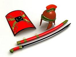 Roman Armour 3d model